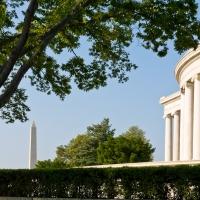 View near the Jefferson memorial - Washington DC